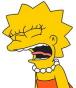 Lisa yelling