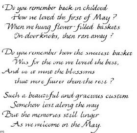 Mayday poem