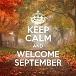 Keep calm September