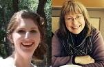 Lisa Horn Dielman and Madeline Brock